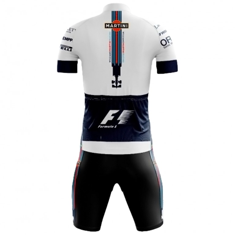 Conjunto Bermuda e Camisa Pro Tour Williams F1