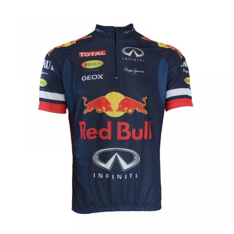suma termómetro en general  Roupas para Ciclismo - A WebStore do Ciclista Camisa Pro Tour Red Bull