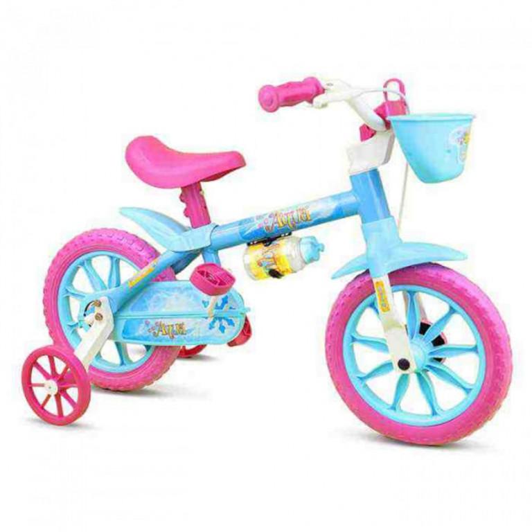Bicicleta Infantil Nathor Aqua Aro 12