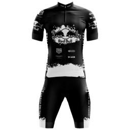 Conjunto Bermuda e Camisa Pro Tour Red Bull Black