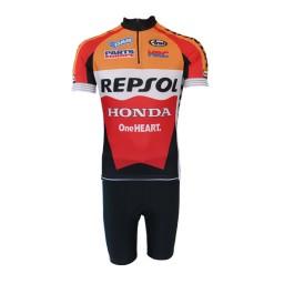 Conjunto Bermuda e Camisa Pro Tour Repsol