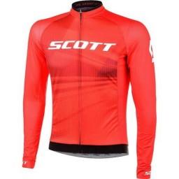 Camisa Manga Longa Scott Rc Pro - Vermelho