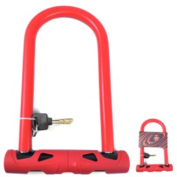 Cadeado Zoli U-lock 165x250 Com Chave