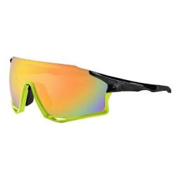 Óculos Ciclismo High One Mark Com 3 Lentes - Amarelo Neon