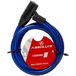 Cadeado Absolute 1,0mX12mm Espiral com Chave