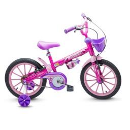 Bicicleta Infantil Nathor Top Girls Aro 16