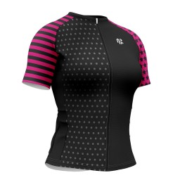 Camisa Ciclismo Feminina AR Sports Gold Star Sleeves