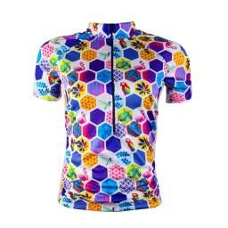 Camisa Ciclismo Feminina Befast Geometric