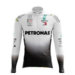 Camisa Ciclismo Manga Longa Pro Tour Petronas