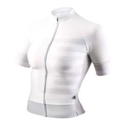 Camisa Feminina EVOE 2020 Branca/Cinza