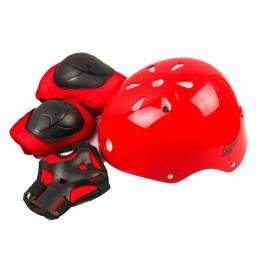 Kit Proteção e Capacete Infantil Rava Play