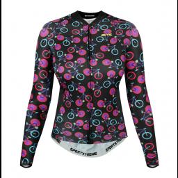 Camisa Feminina Manga Longa Sportxtreme Cycling