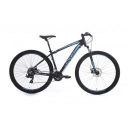 Bicicleta Aro 29 Oggi Hacker Sport Preta e Azul
