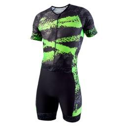 Macaquinho EVOE Triathlon Verde Neon