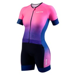 Macaquinho Feminino EVOE Triathlon Rosa