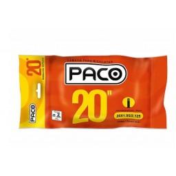 Câmara de Ar Paco Prime Aro 20x1.95/2.125