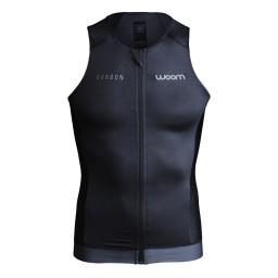 Top Regata Woom Triathlon Carbon Black