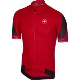 Camisa Castelli Volata Vermelha